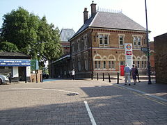 Crystal Palace railway station building 2.JPG