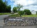 Curling Pond Road street sign, Ceres, Fife.JPG
