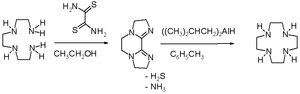 Cyclen - Cyclen synthesis dithiooxamide method
