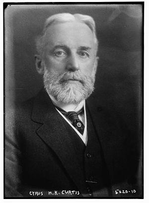 Cyrus H. K. Curtis - Curtis circa 1918