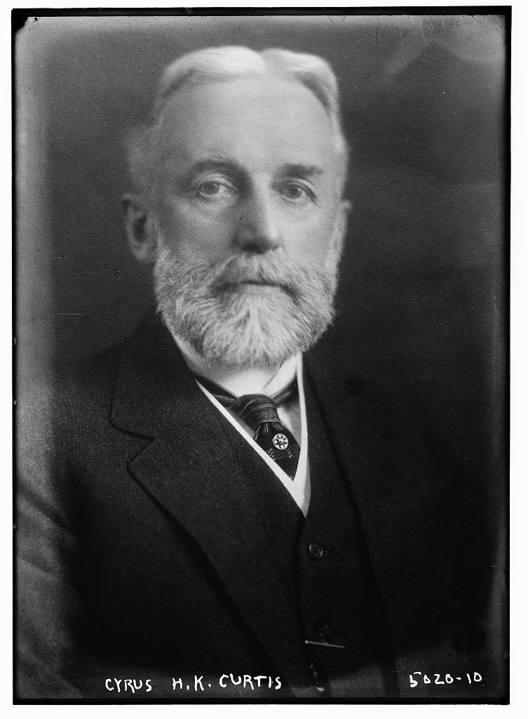 Cyrus Hermann Kotzschmar Curtis circa 1918