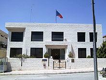 Budova českého velvyslanectví v Ammánu