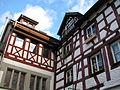 D-BW-Konstanz - Fachwerkhäuser 'Zum Vorderen Tanz'.JPG
