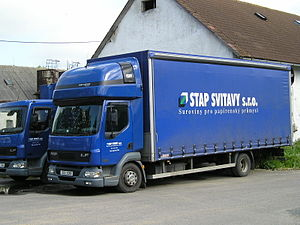 Leyland Trucks - DAF LF designed and built by Leyland Trucks 2009