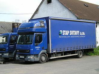 Leyland Trucks - DAF LF designed and built by Leyland Trucks 2009