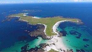 Monach Islands - Ceann Iar, the most westerly of the three main Monach Islands