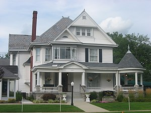National Register of Historic Places listings in Jennings County, Indiana - Image: DSR Funeral Home in North Vernon