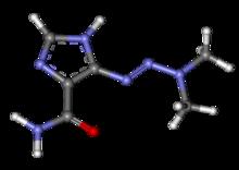 Dacarbazine - Wikipedia, the free encyclopedia Dacarbazine