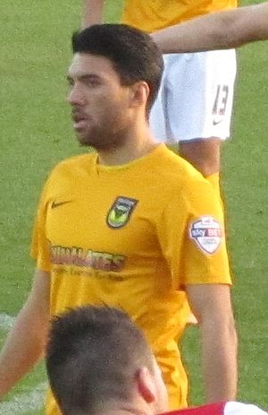 Danny Rose (footballer, born 1988) - Rose playing for Oxford United in 2013