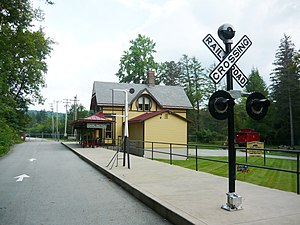 Ligonier Valley Railroad - Darlington Station Now the Ligonier Valley Rail Road Museum