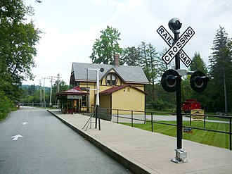 Ligonier Valley Railroad - Darlington Station, home to the LVR Museum.
