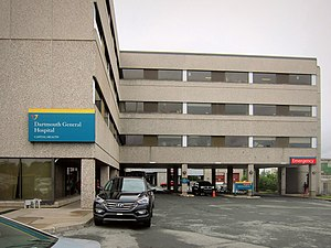 Dartmouth General Hospital - Emergency department entrance