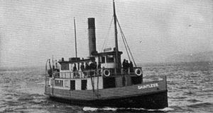 Dauntless (steamboat) - Image: Dauntless (steamboat 1899)