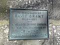 David Grant (1833-93) plaque.JPG