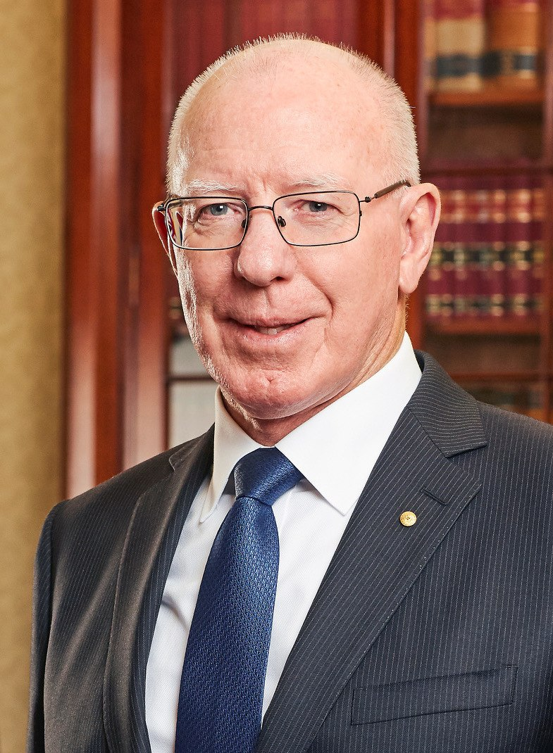 David Hurley official photo (cropped)