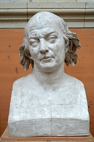 Pierre-Jean de Béranger - Bust of Pierre-Jean de Béranger by David d'Angers (1829).