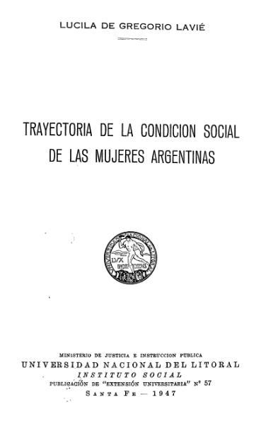 File:De Gregorio Lavie Trayectoria mujeres argentinas.djvu