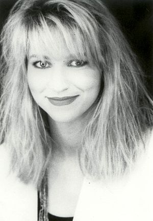 "Debbie Gibson - Gibson on the set of the video for ""No More Rhyme"""