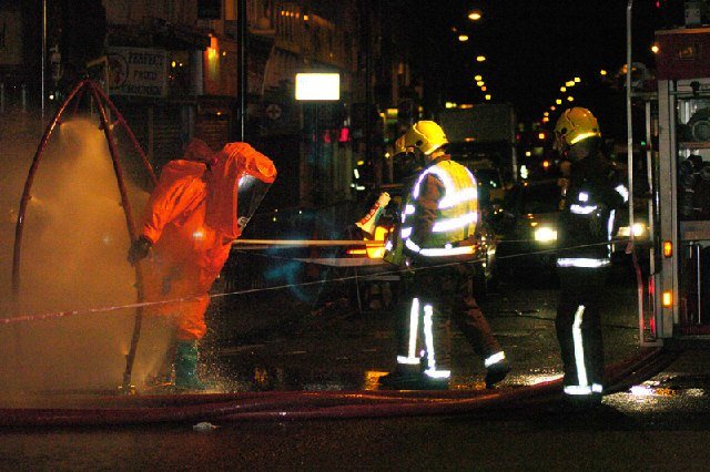 Decontamination after incident at Archway - geograph.org.uk - 108750.jpg