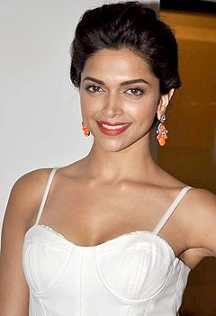 A head shot of Deepika Padukone, as she poses for the camera
