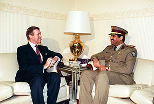 Hamad bin Ali Al Attiyah - Hamad bin Ali Al Attiyah meeting with William Cohen in October 1998.