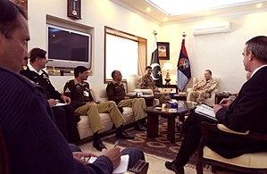 Joint Staff Headquarters (Pakistan) - Image: Defense.gov photo essay 070203 F 5107H 004