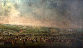 Thomas Ruckle - The Defense of Baltimore - Assembling of the Troops, painted by Thomas Ruckle c1814 or 1815.