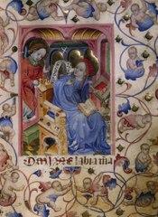 Den heliga Jungfruns tidegärdsbok med kalender