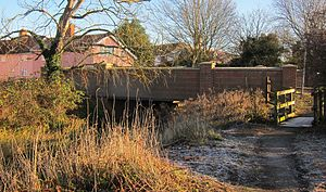 River Waveney - Image: Denmark Bridge