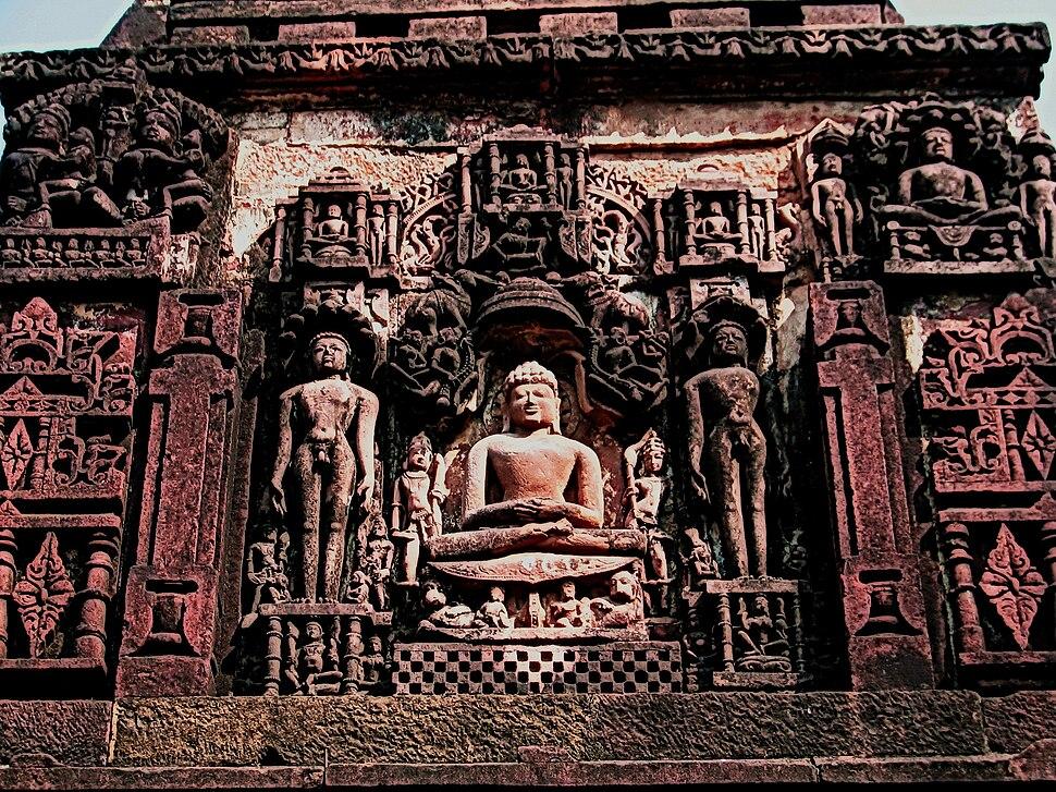 Deogarh, UP. Jain temple complex