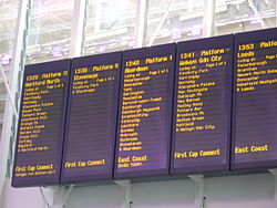 Rail travel in great britain travel guide at wikivoyage - Kings cross ticket office opening times ...