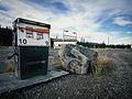 Derelict gas pump, Carcross Cutoff, Yukon (10752591885).jpg