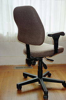 Office chair seating for office worker