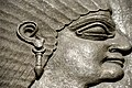 Detail. Head of one of Ashurnasirpal II's royal attendants (a eunuch). Alabaster bas-relief from the North-West Palace of Ashurnasirpal II at Nimrud, Iraq. 9th century BCE. National Museum of Scotland. Donated by Sir Dr. James Young.jpg