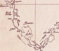 Detail of David Thompson's 1814 Map of the North-West Territories.png