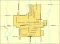 Detailed map of Anthony, Kansas.png