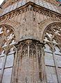 Detall del cimbori, catedral de València.JPG
