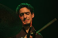 Deutsches Jazzfestival 2013 - Guillaume Perret and The Electric Epic - Yoann Serra 02.JPG