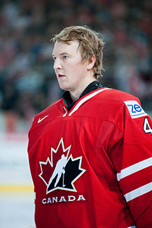 Devan Dubnyk - Switzerland vs. Canada, 29th April 2012-3.jpg