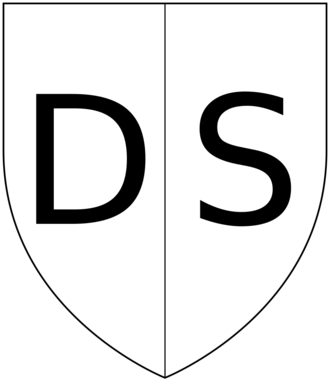 Dexter and sinister - Division of the heraldic escutcheon: Dexter to the bearer's right (viewer's left), position of honour; Sinister to the bearer's left (viewer's  right).