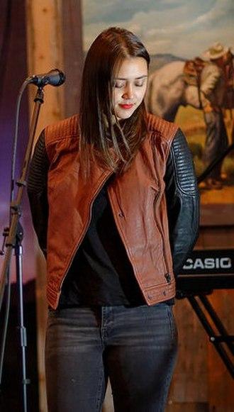 Dia Frampton - Frampton performing at Tinhorn Flats in Hollywood, California in May 2015.