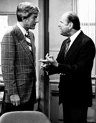 The New Dick Van Dyke Show - Van Dyke as Dick Preston and Dick Van Patten as Max Mathias, 1973.