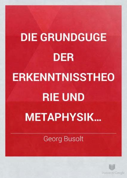File:Die Grundzüge der Erkenntnisz Theorie und Metaphysik Spinozas dargestellt.djvu