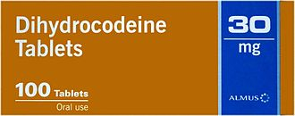 Dihydrocodeine - Package of 100 Dihydrocodeine Tablets