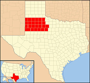 Roman Catholic Diocese of Lubbock - Image: Diocese of Lubbock in Texas