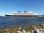 Disney Magic at Pier 25 in Port of Tallinn 7 August 2018.jpg
