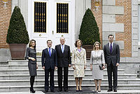 Dmitry Medvedev in Spain 2 March 2009-5.jpg