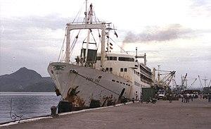 MV Doña Paz - Image: Doña Paz at Tacloban