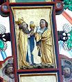 Doberan Münster - Triumpfkreuz 4 Melchisedek Abel.jpg