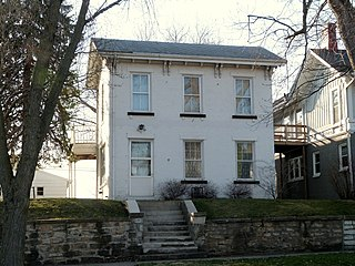 Augustus Caesar Dodge House house in Burlington, Iowa
